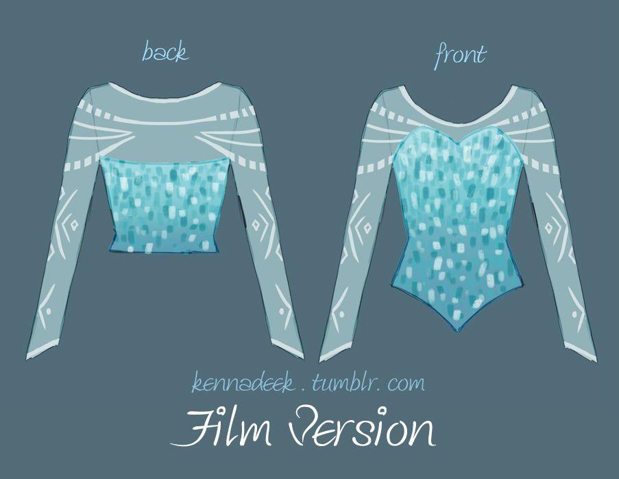 8c50745b73 Halloween costume idea...Elsa from Frozen bodice design