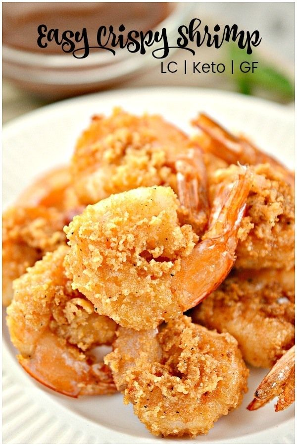 Photo of Easy Crispy Keto Shrimp with Air Fryer option