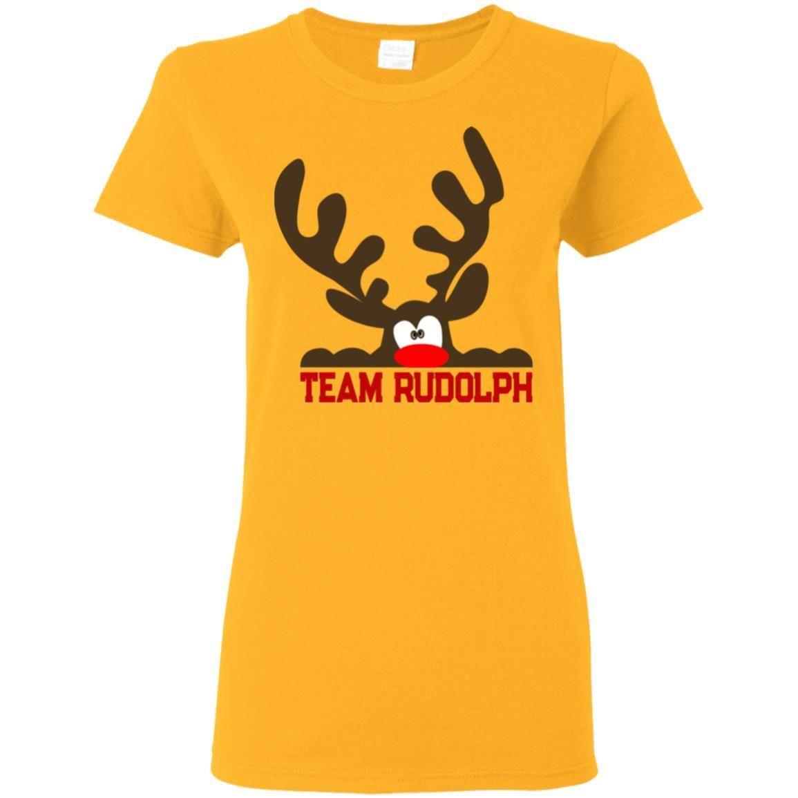 team rudolph funny christmas t shirt - Christmas Shirts Walmart