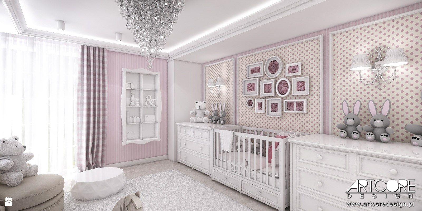 Pokoj Niemowlecy Dla Dziewczynki Zdjecie Od Artcore Design