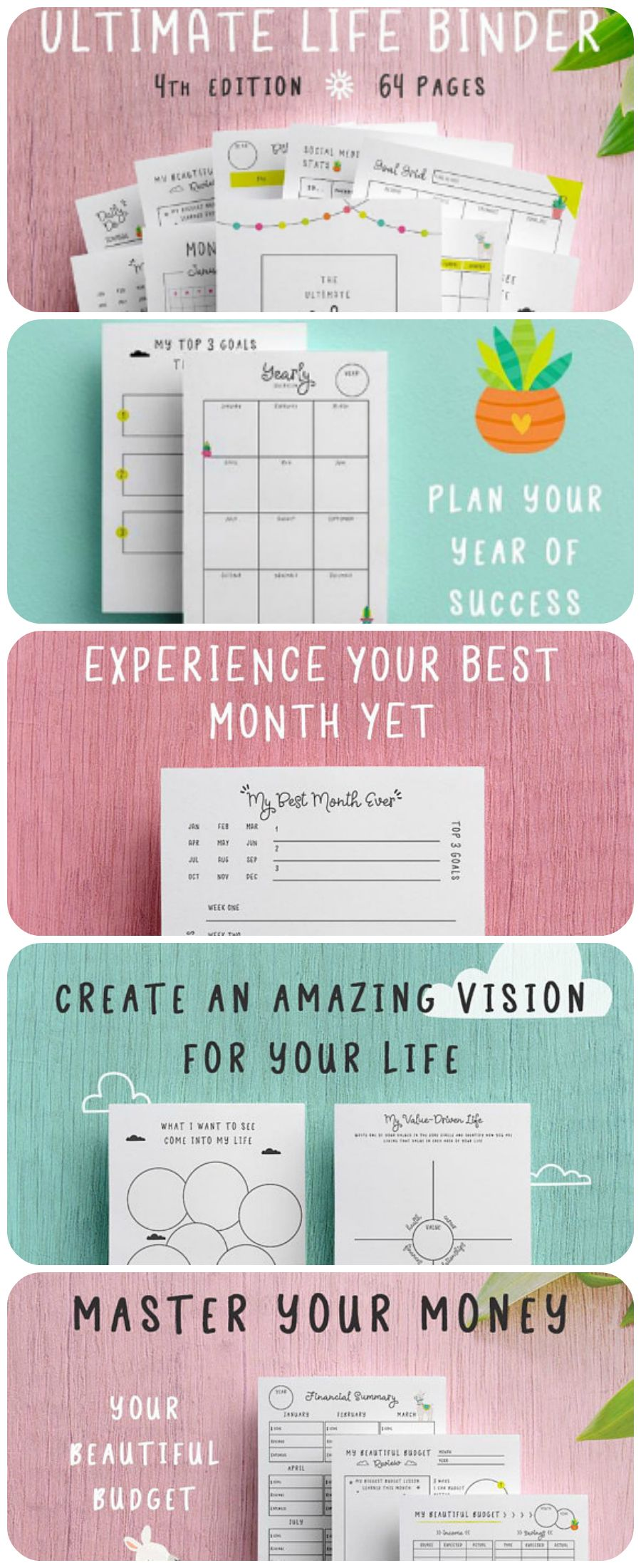 Oh my, this is planner addicts heaven. It has everything to organize your life! Love it #planner #planneraddict #plannercommunity #affiliate