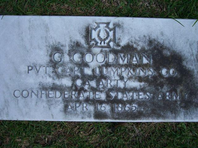 G. Goodman ( - 1865) - Find A Grave Photos