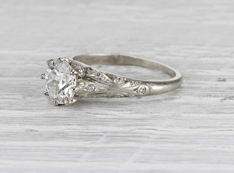 product engagement ring diamond needful edwardian things antique alison rings jewellery