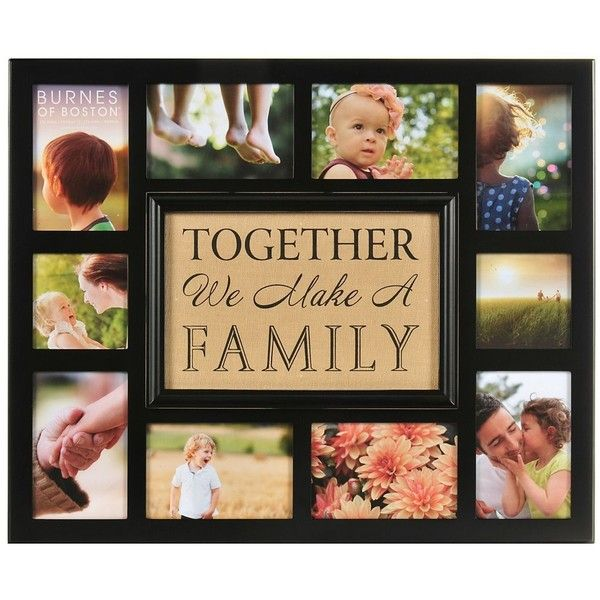 Together We Make A Family Collage Frame 528 070 Idr Liked On Polyvore Featuring Home Home Decor Frames 4x6 Collage Picture Frames Heart Picture Frames