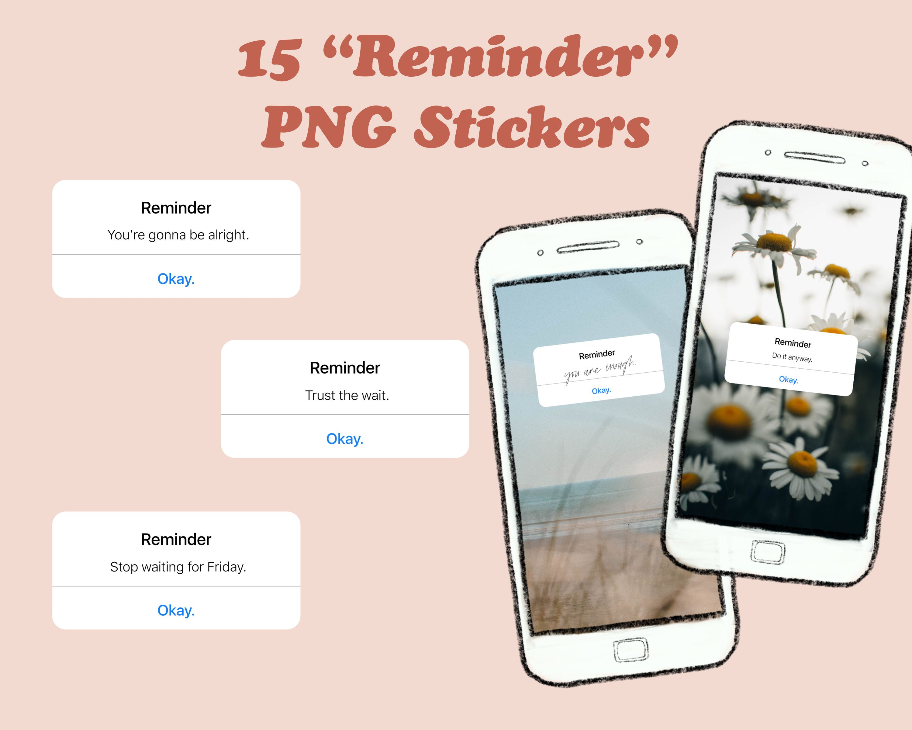 15 Instagram Story Stickers Iphone Reminder Png Sticker Iphone Reminders Instagram Story Reminder