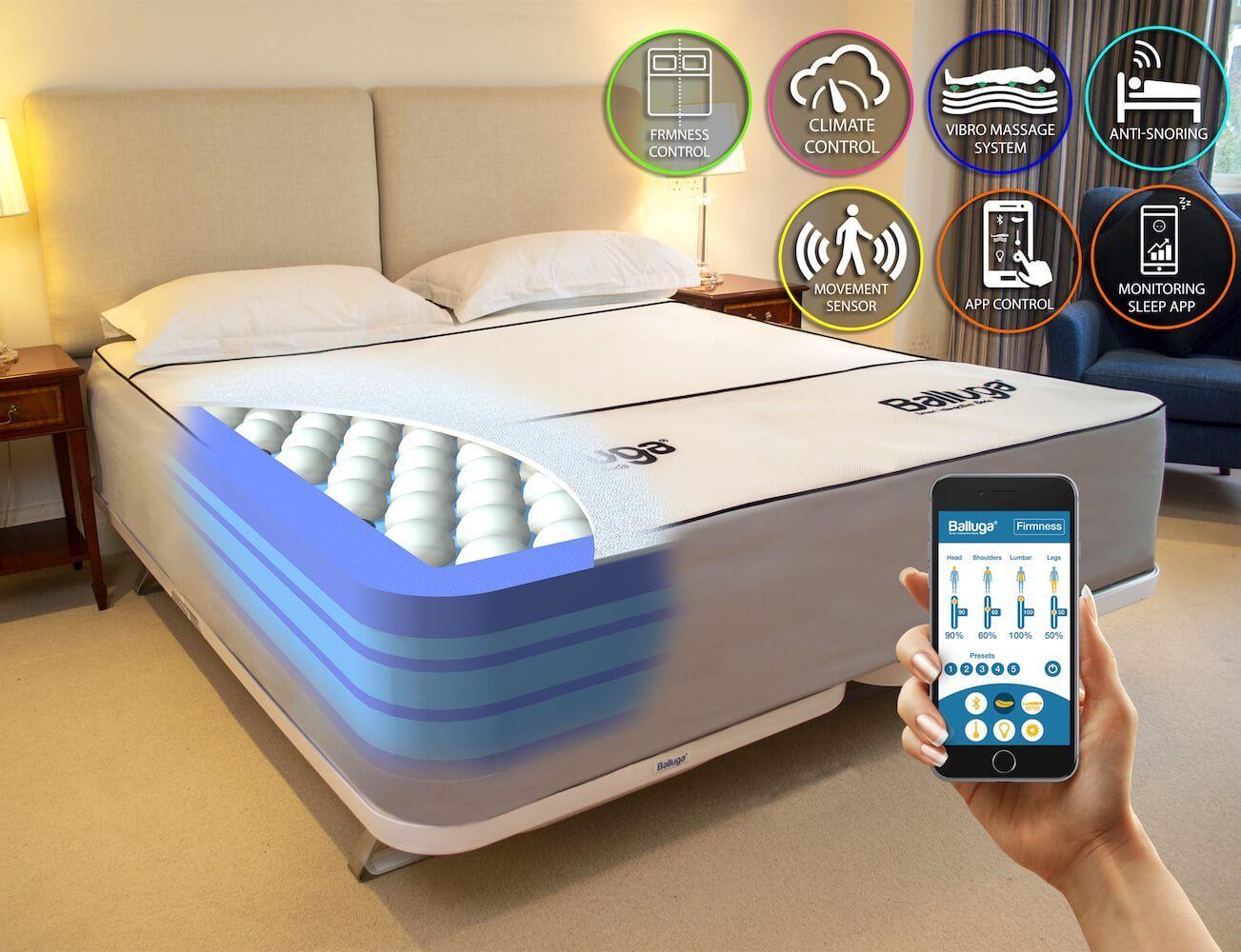 تشک های هوشمند Smart bed, Smart mattress, Smart home