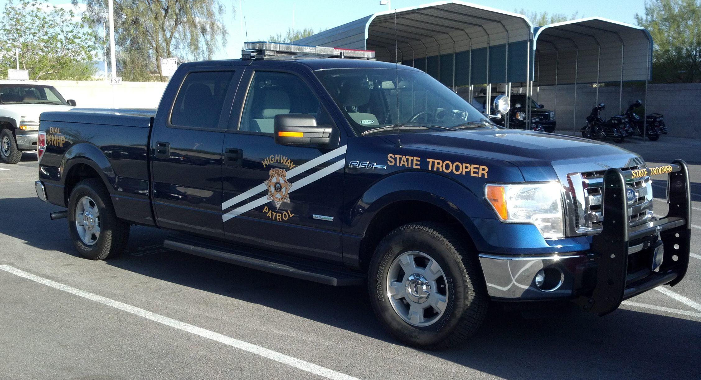 Superbe Nevada Highway Patrol Ford F 150