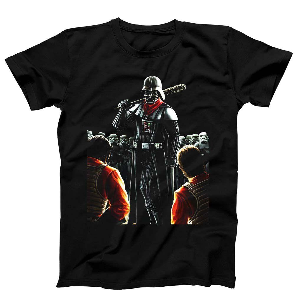 Darth Vader Negan Walking Dead Star Wars Men S T Shirt Star Wars Men Mens Tshirts Mens T [ 1024 x 1024 Pixel ]