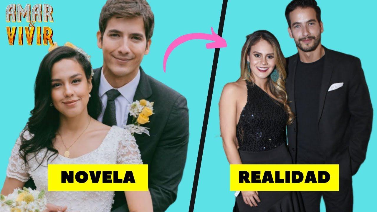 Parejas Reales De Los Actores De La Telenovela Amar Y Vivir In 2021 Actors Movie Posters Poster
