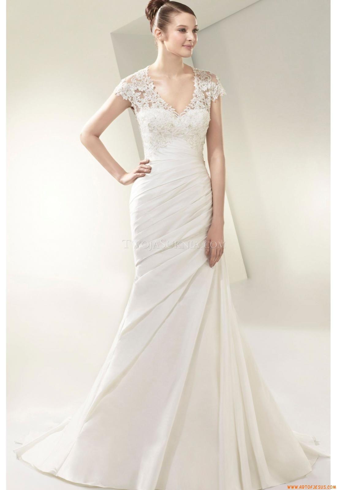 Elegant wedding dresses for mature brides  Wedding Dresses Enzoani BT Beautiful   Wedding Dresses