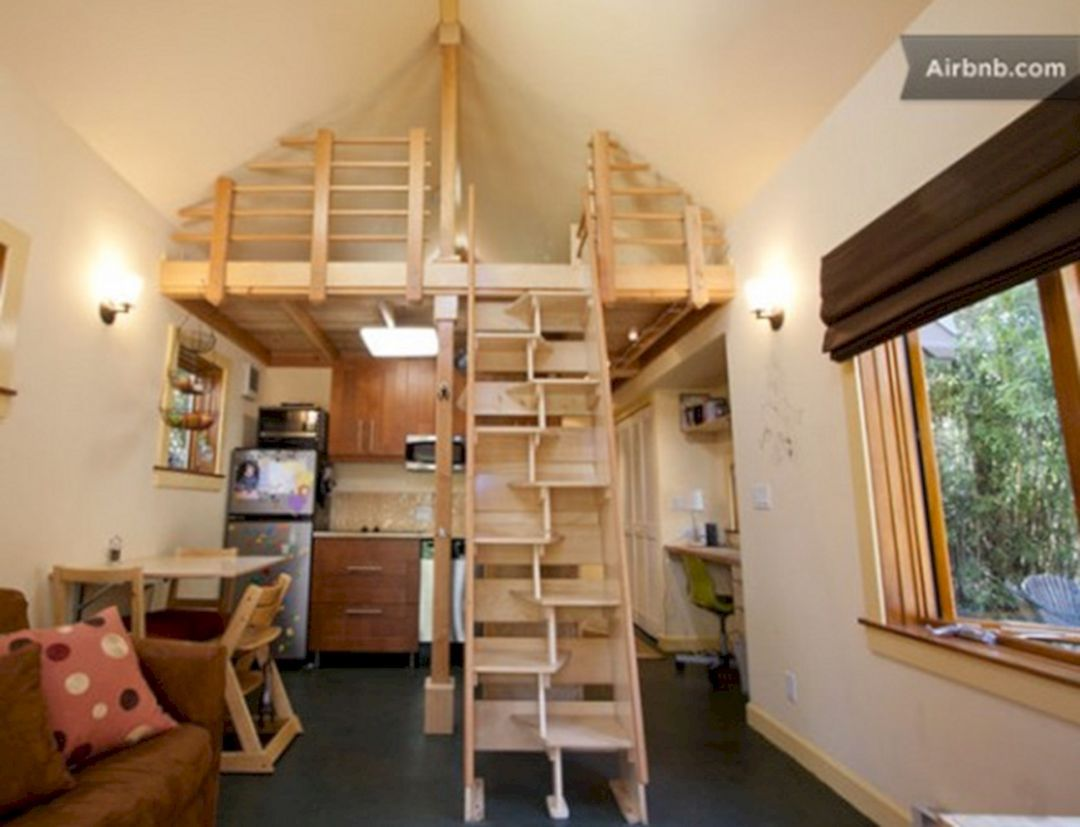 35+ Best Ladder Design Inspirations For Beautiful Tiny Home | Tiny Ladder Tiny House Designs on tiny house dining tables, tiny house beds, tiny house desks,