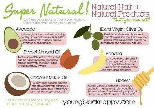 Natural Products for Natural Hair