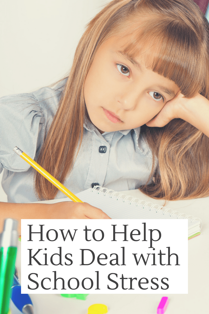 Anxiety And Homework Helping Your Child >> How To Help Kids Deal With School Stress Family Parenting Tips