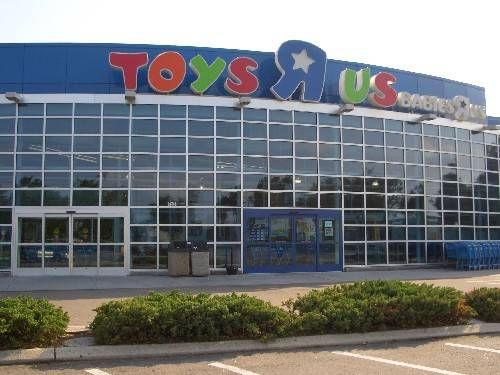 """Do you know why the """"R"""" in the Toys 'R Us logo is backwards?  Click the image to find out or click here >>  http://retailindustry.about.com/od/retailbestpractices/ig/Company-Mission-Statements/Toys--R-Us-Mission-Statement.htm #retail #stores #toys #shopping"""