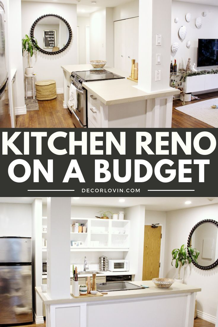 Kitchen makeover before and after on  budget interior design  decorating pinterest home decor diy also rh