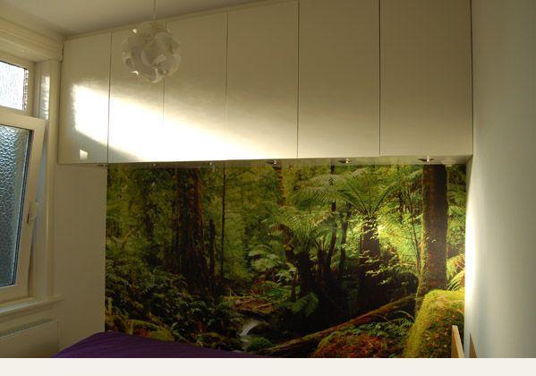 21 bovenkasten kleine slaapkamer, gespoten MDF | slaapkamer | Pinterest