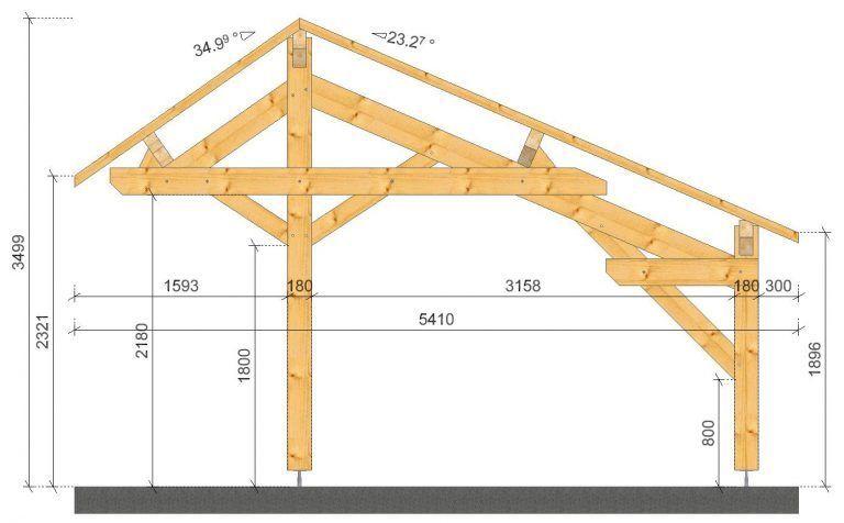 Abri Voiture Plan Carport A Toit Plat Pour 2 Voitures Plans Maisons Diy Carport Carport Sheds Carport Designs
