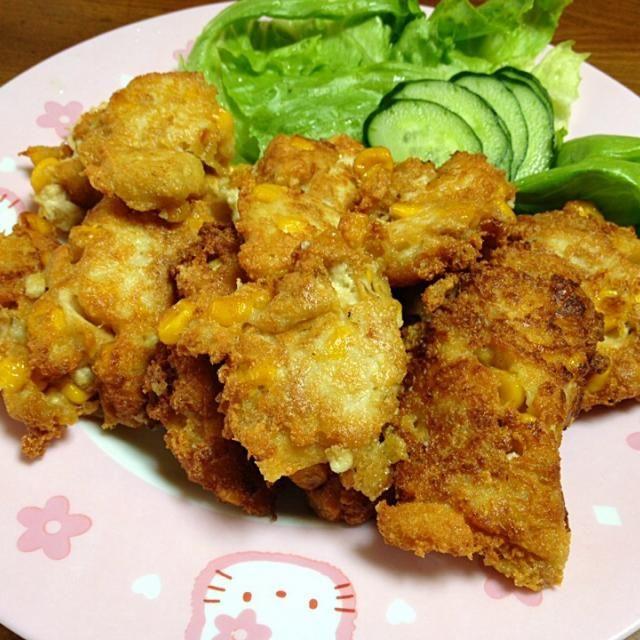 豆腐が柔らかすぎて悪戦苦闘しました - 10件のもぐもぐ - 豆腐ナゲット by exileaiko