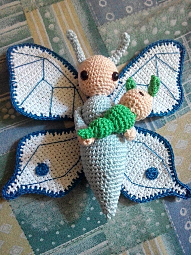 Farfalla Bree bambola fatto a mano da Noriana M - Istruzioni per uncinetto by Zabbez