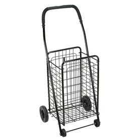 Dmi Collapsible Steel Shopping Cart Lowes Com Folding Shopping