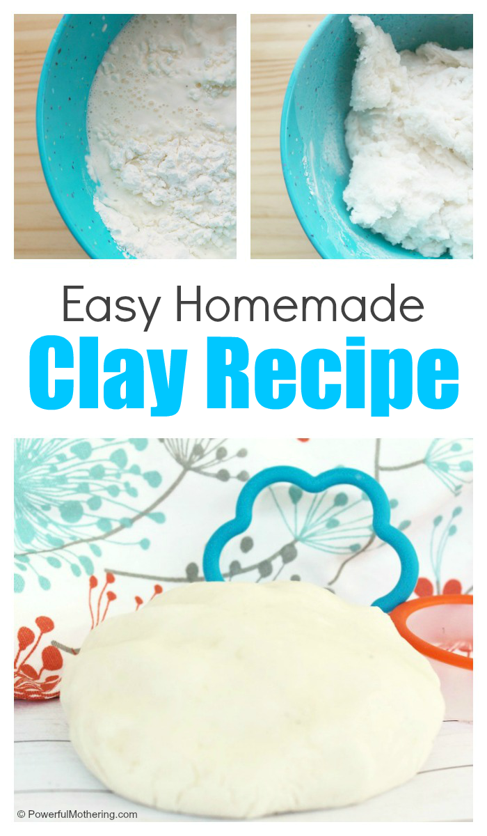 How To Make An Easy Homemade Clay Recipe Homemade Clay Recipe Homemade Clay Homemade Polymer Clay