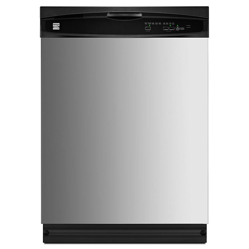 Kenmore 14423 24 In Built In Dishwasher Stainless Steel