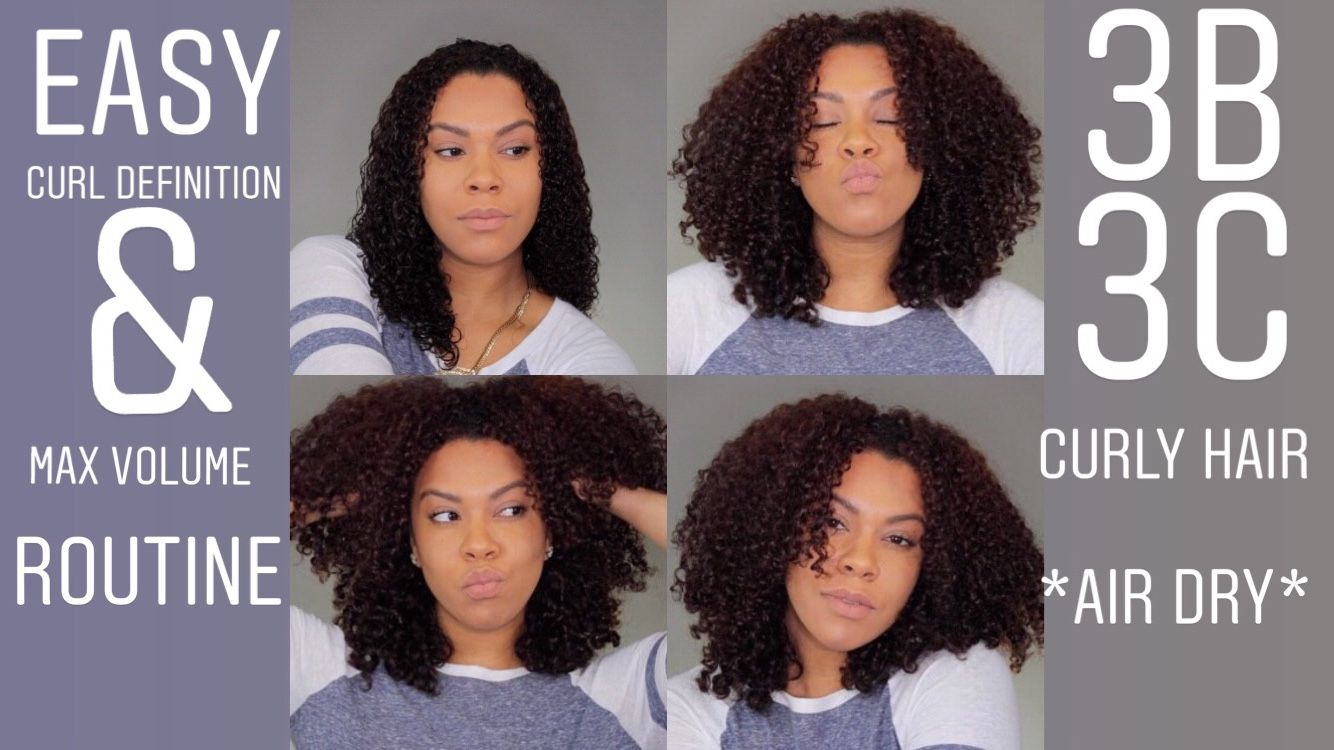 This Is My Short Air Dry Routine On How To Achieve Curl Definition