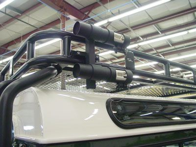 Rack mounted holders. | Pesca, Accesorios 4x4, 4x4