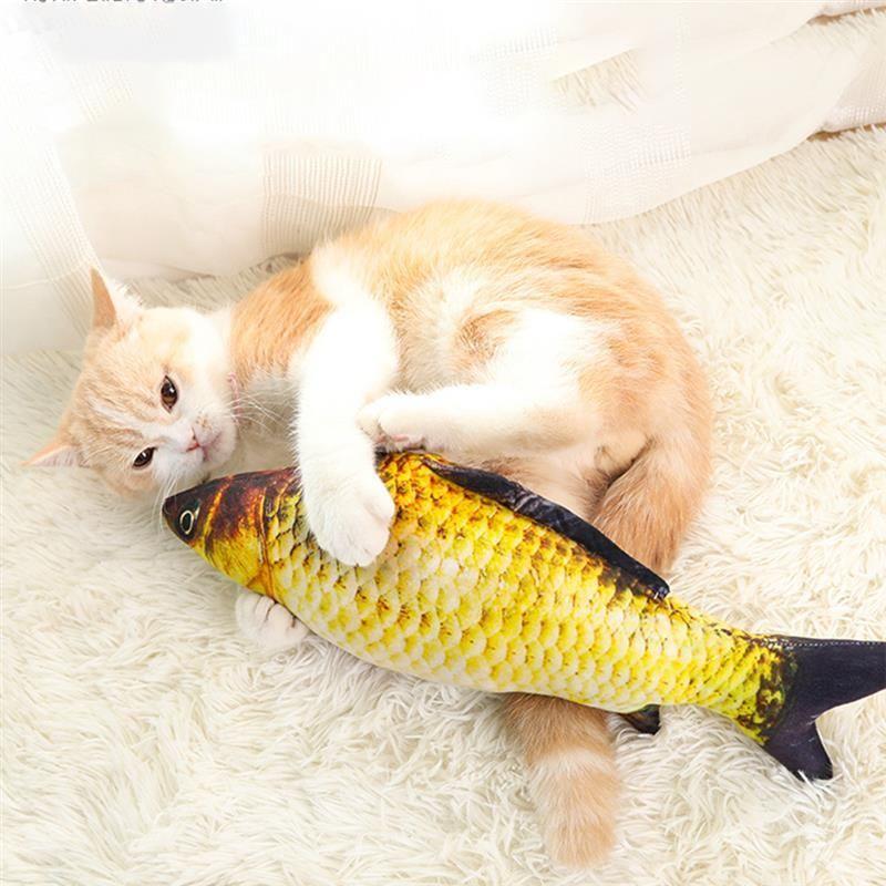 Cat Kicker Fish Toy Fish Cat Toy Cat Toys Catnip Cat Toy