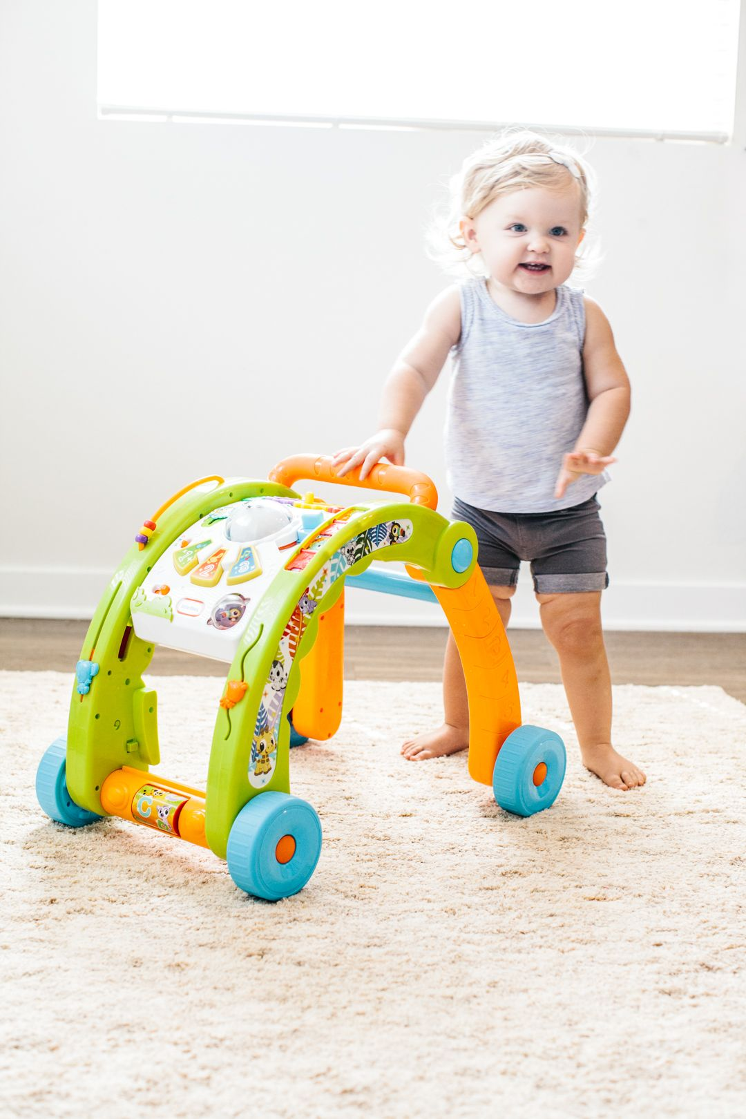 Light N Go 3 In 1 Activity Walker Baby Bath Seat Baby First Birthday Baby Toys