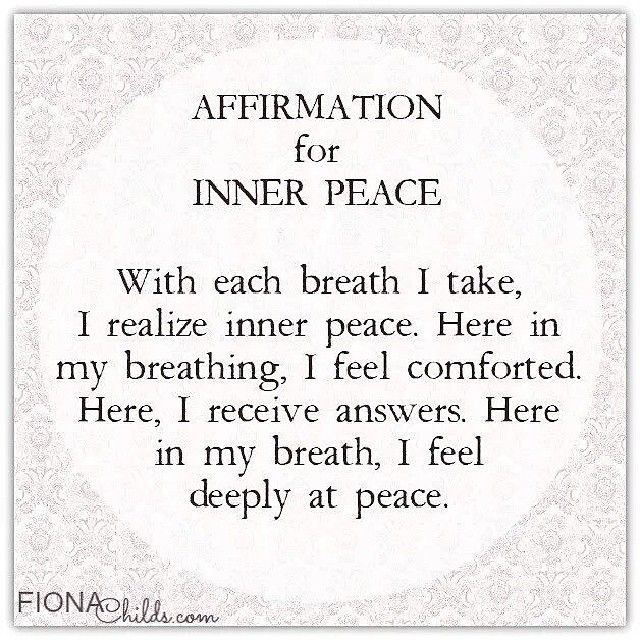 Image result for breathing affirmations pic