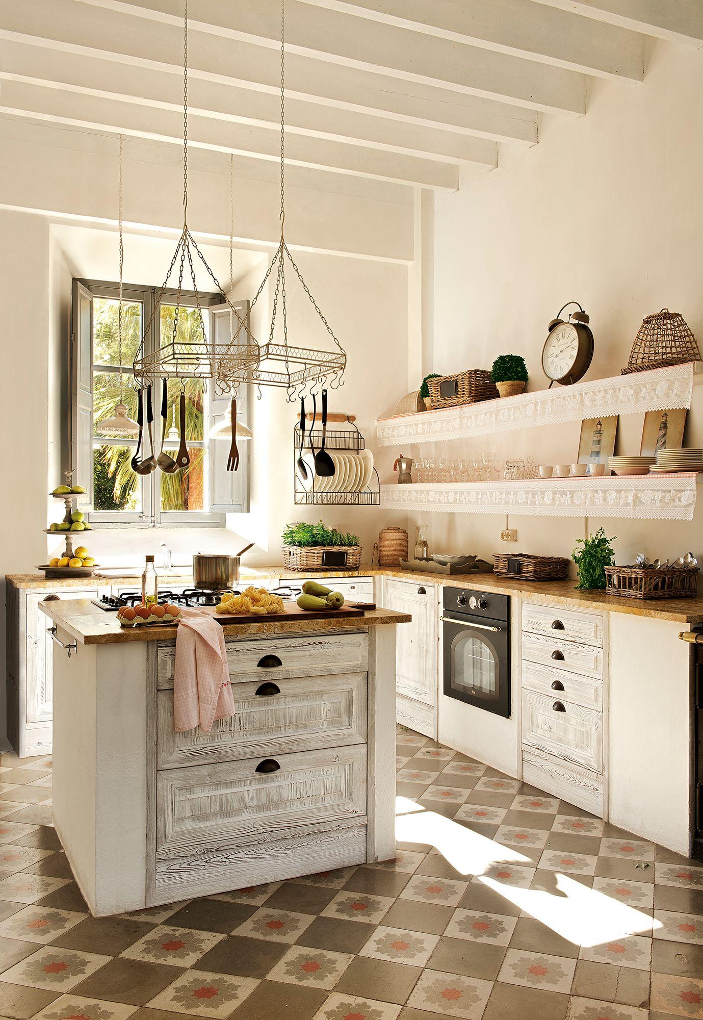Las 50 mejores cocinas de el mueble cuisines et d co - Fotos de cocinas antiguas ...