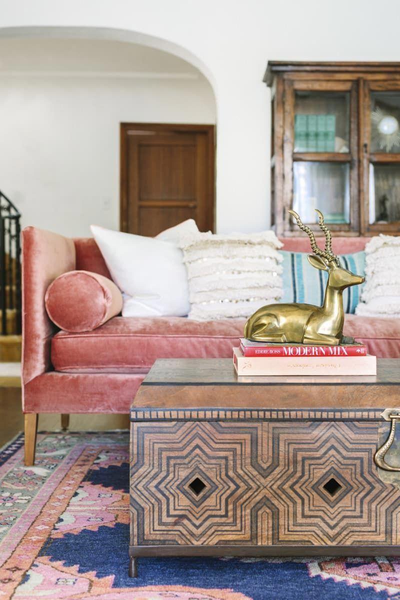 peachy, vintageinspired living room livingroomfurnitures
