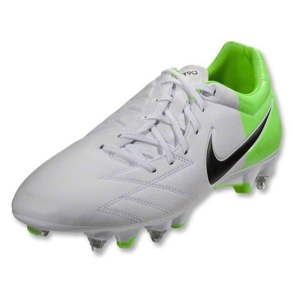 Nike T90 Strike IV SG-Pro (White/Black/Electric Green)