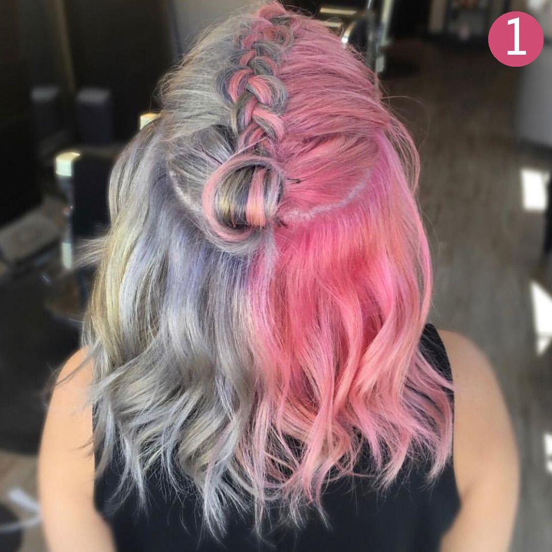 Ig montereyhairbynicole dyed hair pinterest colourful hair
