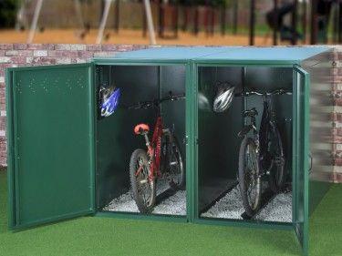 Bike Security Single Bike Locker Bicycle Storage Outdoor Bike