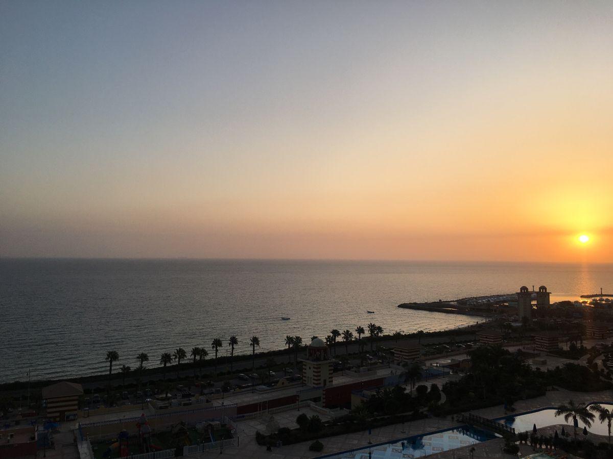 العين السخنة شروق Sunset Celestial Outdoor