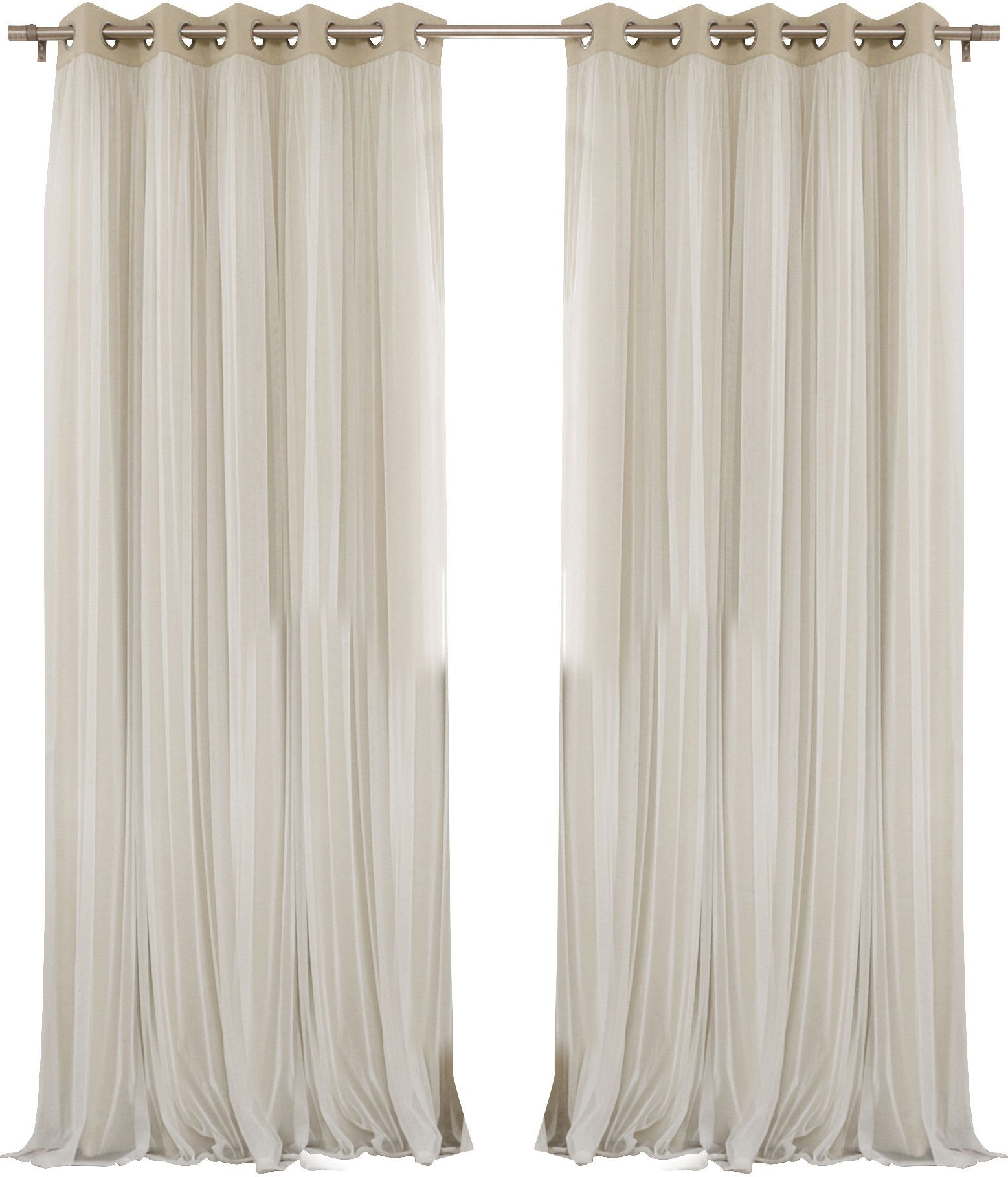 You Ll Love The Anabelle Tulle Thermal Blackout Energy Efficient