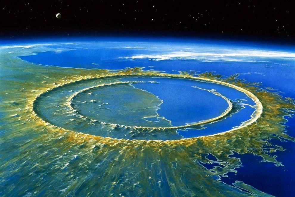 5 Biggest Impact Craters On Earth Impact Crater Dinosaurs