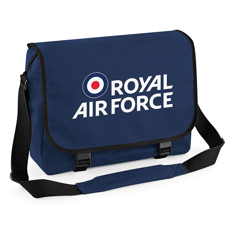 Royal Air Force Logo Messenger Bag Navy One Size Amazon Co Uk