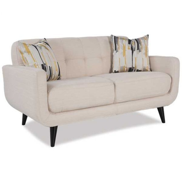 loveseats ivory loveseat products barclay kane living room s furniture