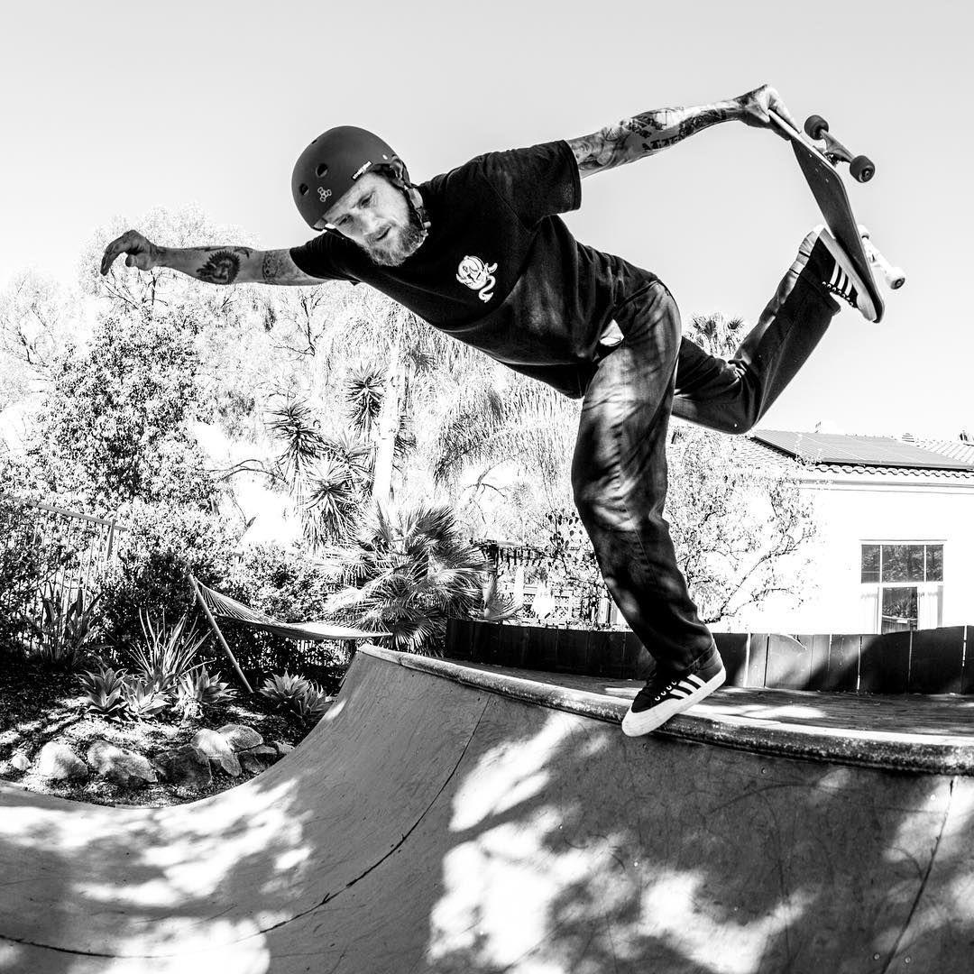 mike vallely backside boneless on kristian svitak u0027s backyard mini