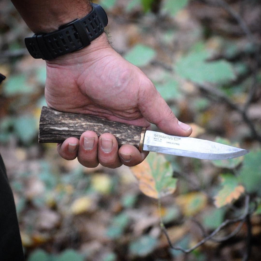 Mora Classic No 2 Stag Handle Morakniv Puukko Bushcraftknife