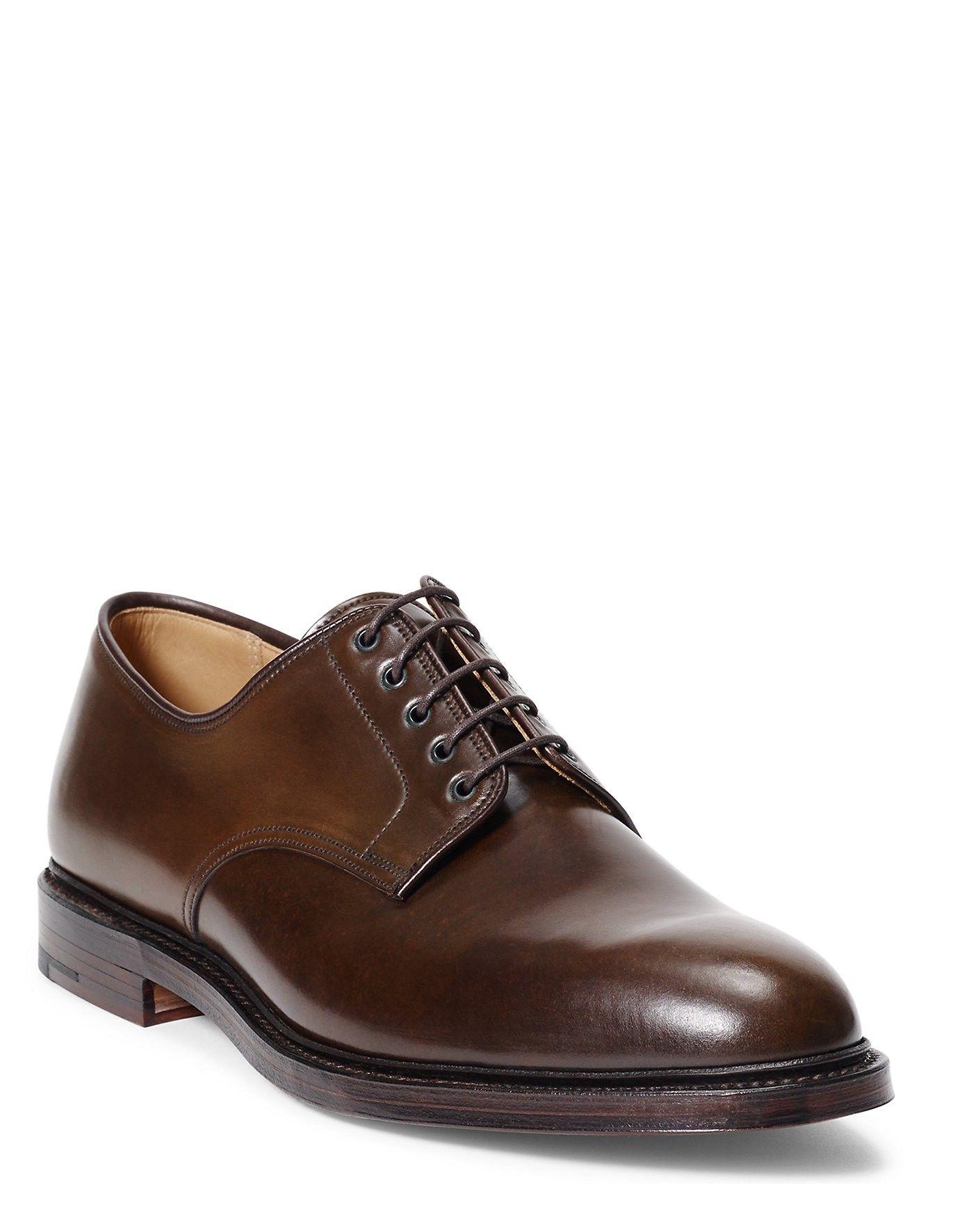 d77ecd2cb67 RALPH LAUREN Ralph Lauren Marlow Cordovan Blucher Shoe.  ralphlauren  shoes