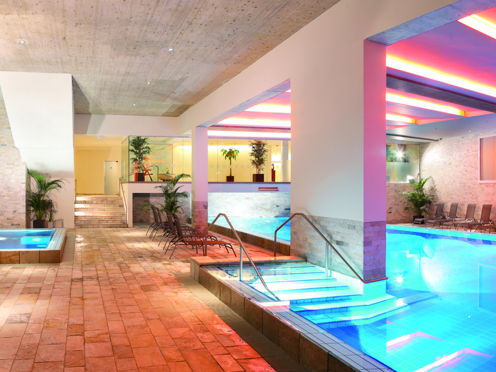 The New Spa Complex At Hotel De France Includes A Large Heated