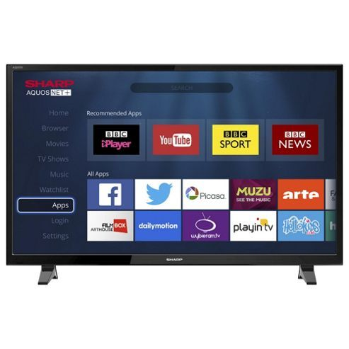 Sharp LC-49CFG6001K Smart Full HD 49 Inch LED TV with