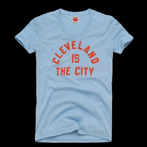 Homage   Women's Cleveland Is The City t-shirt