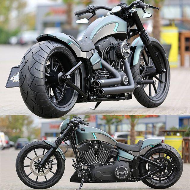 mulpix new #thunderbike project #harleydavidson #softail
