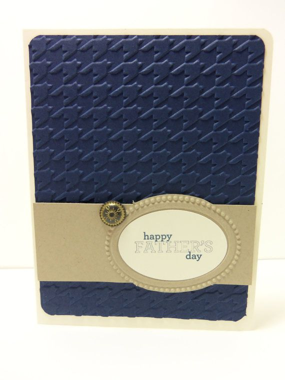 Stampin' Up Handmade Father's Day Card with by donnainksLa on Etsy, $4.00