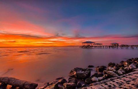 Sunset Alabama Beaches